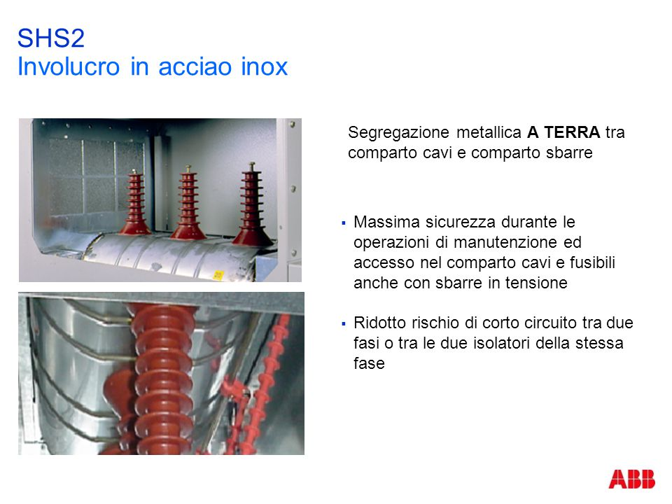 SHS2 Involucro in acciao inox