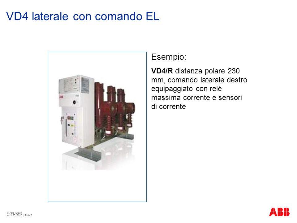 VD4 laterale con comando EL