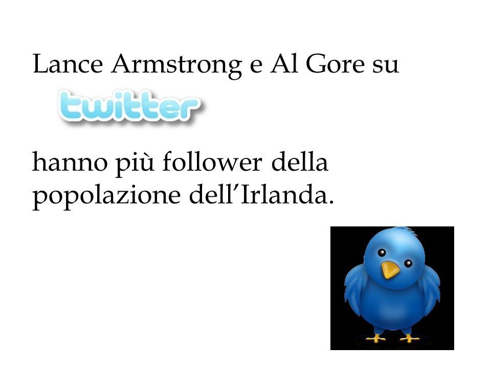 Lance Armstrong e Al Gore su