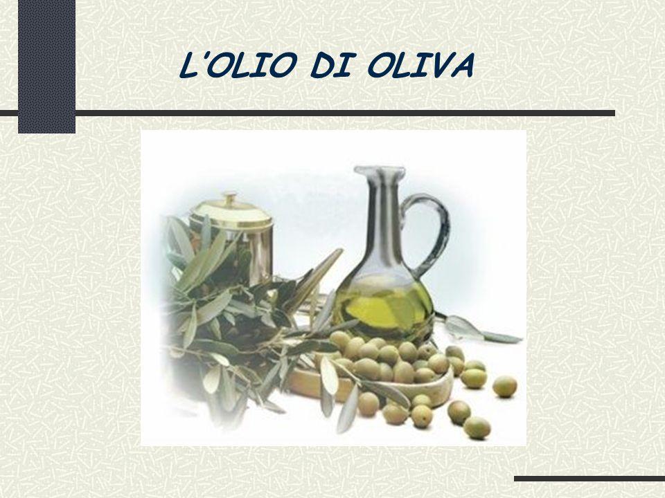 L'OLIO DI OLIVA