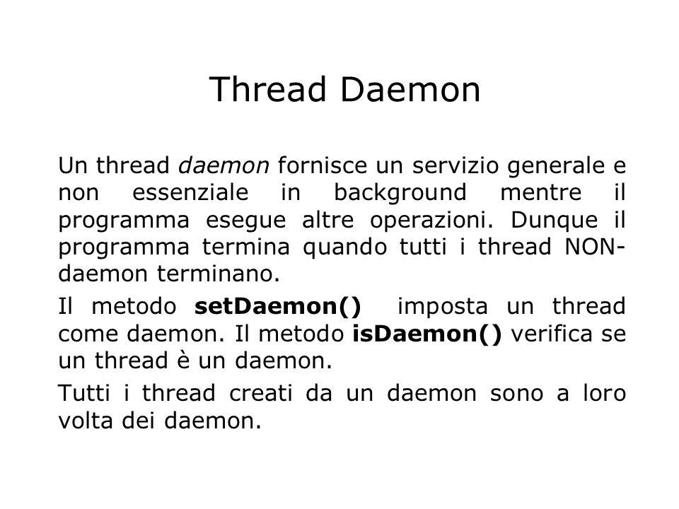 Thread Daemon