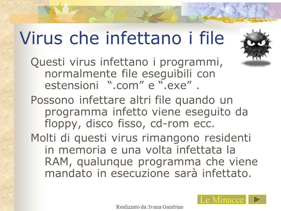 Virus che infettano i file