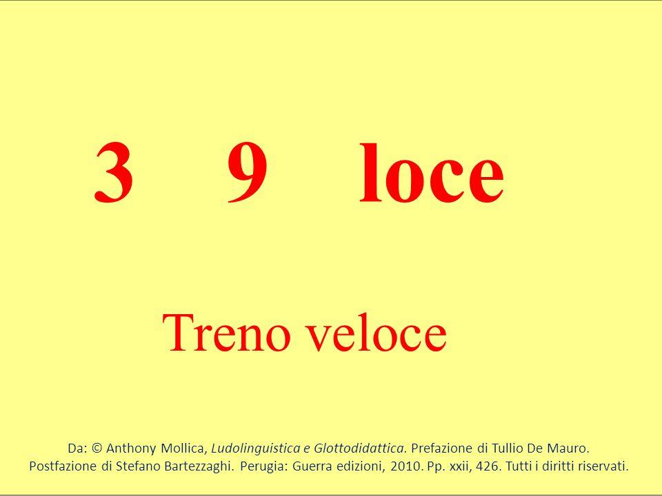 3 9 loce Treno veloce. Da: © Anthony Mollica, Ludolinguistica e Glottodidattica. Prefazione di Tullio De Mauro.