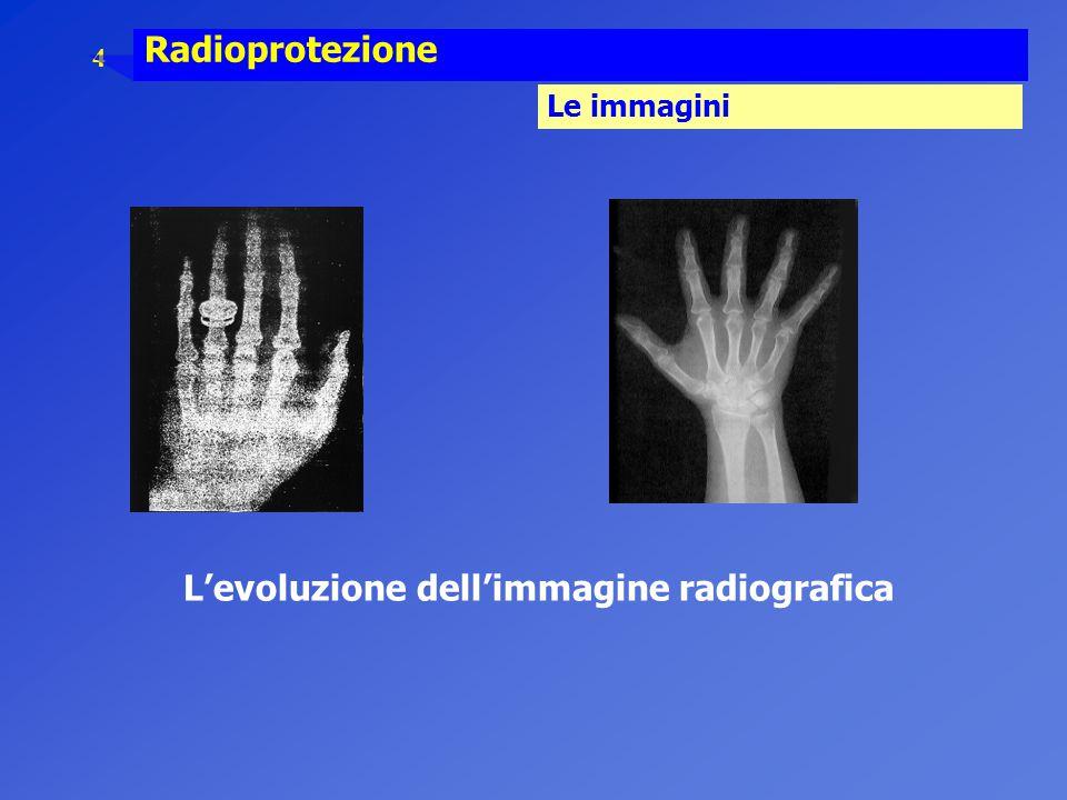 L'evoluzione dell'immagine radiografica