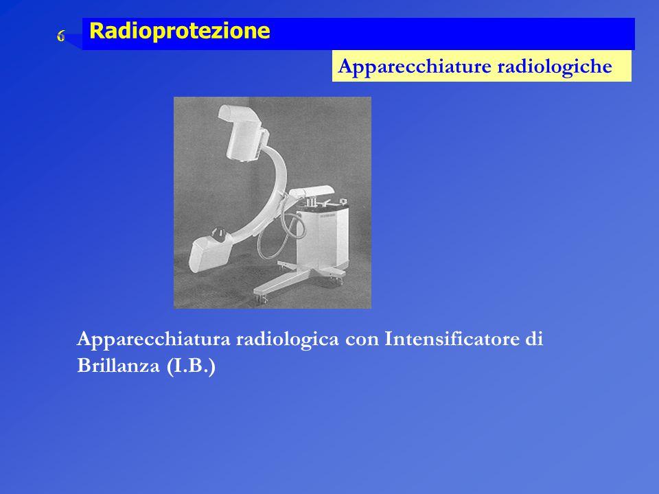 Apparecchiatura radiologica con Intensificatore di Brillanza (I.B.)
