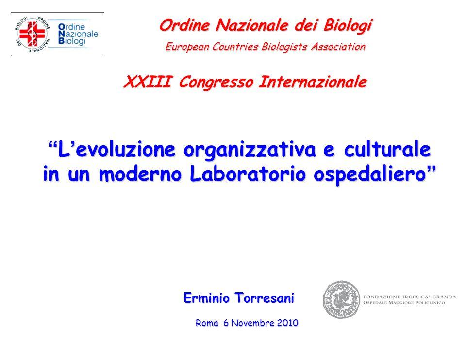 Ordine Nazionale dei Biologi XXIII Congresso Internazionale
