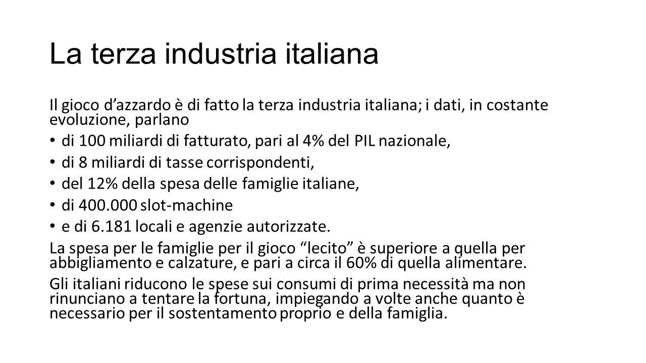 La terza industria italiana