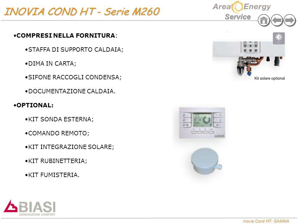 INOVIA COND HT - Serie M260 COMPRESI NELLA FORNITURA: