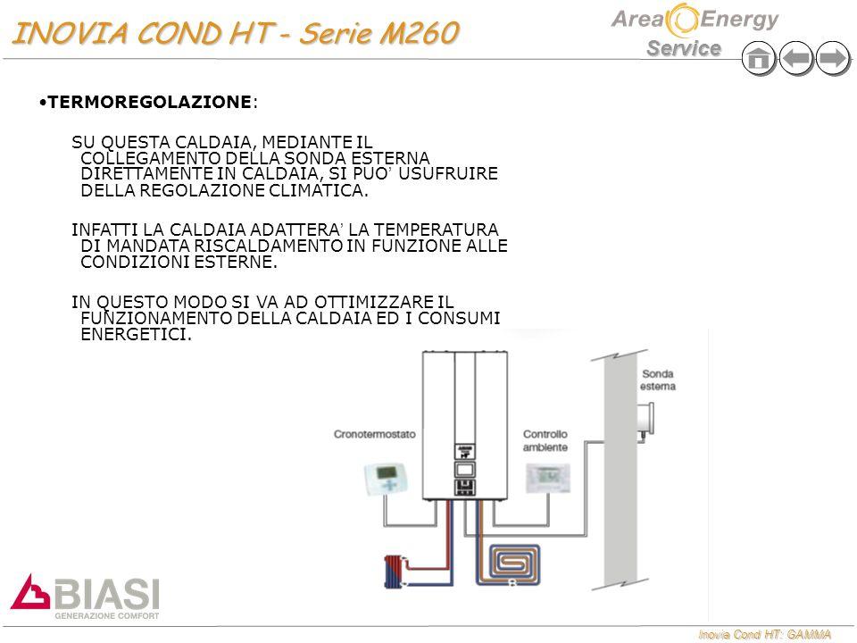 INOVIA COND HT - Serie M260 TERMOREGOLAZIONE: