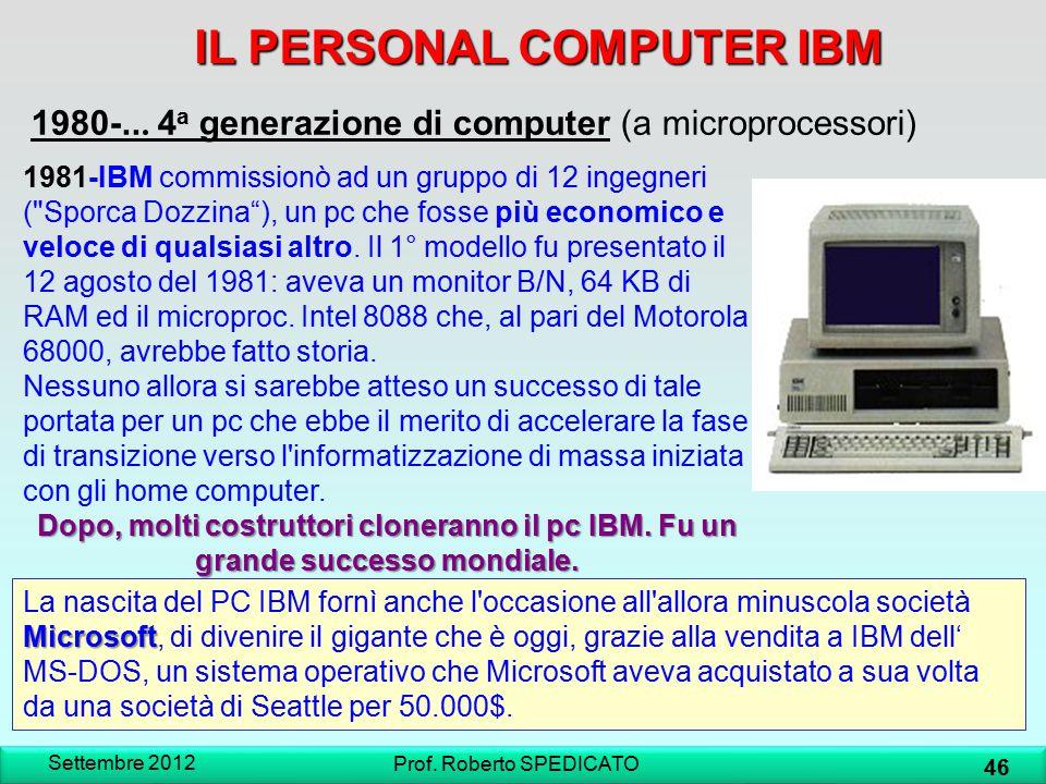 IL PERSONAL COMPUTER IBM