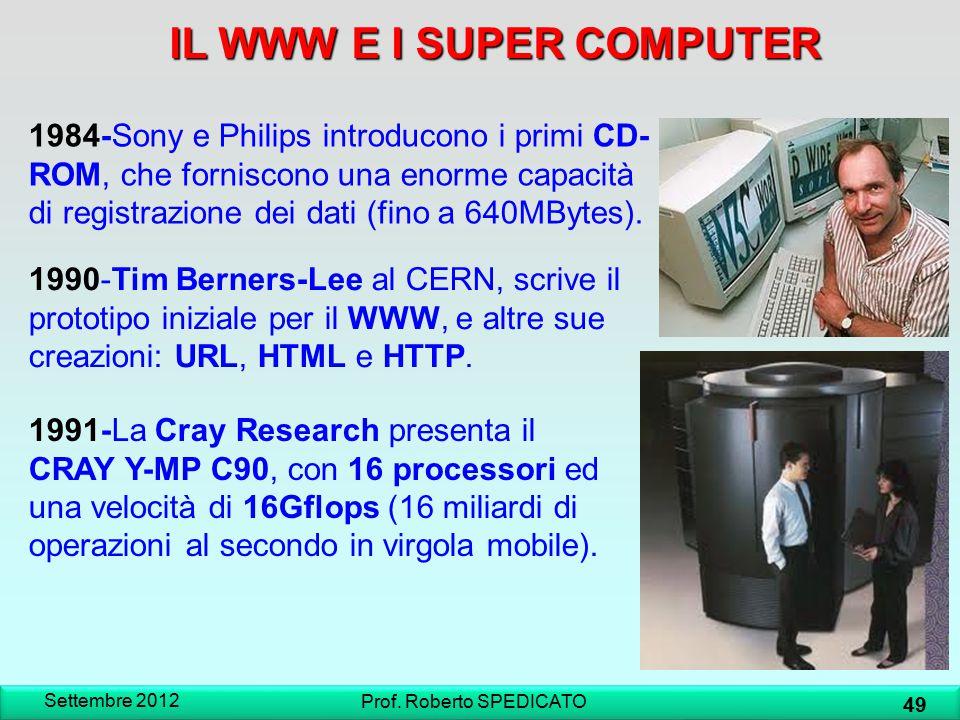 IL WWW E I SUPER COMPUTER