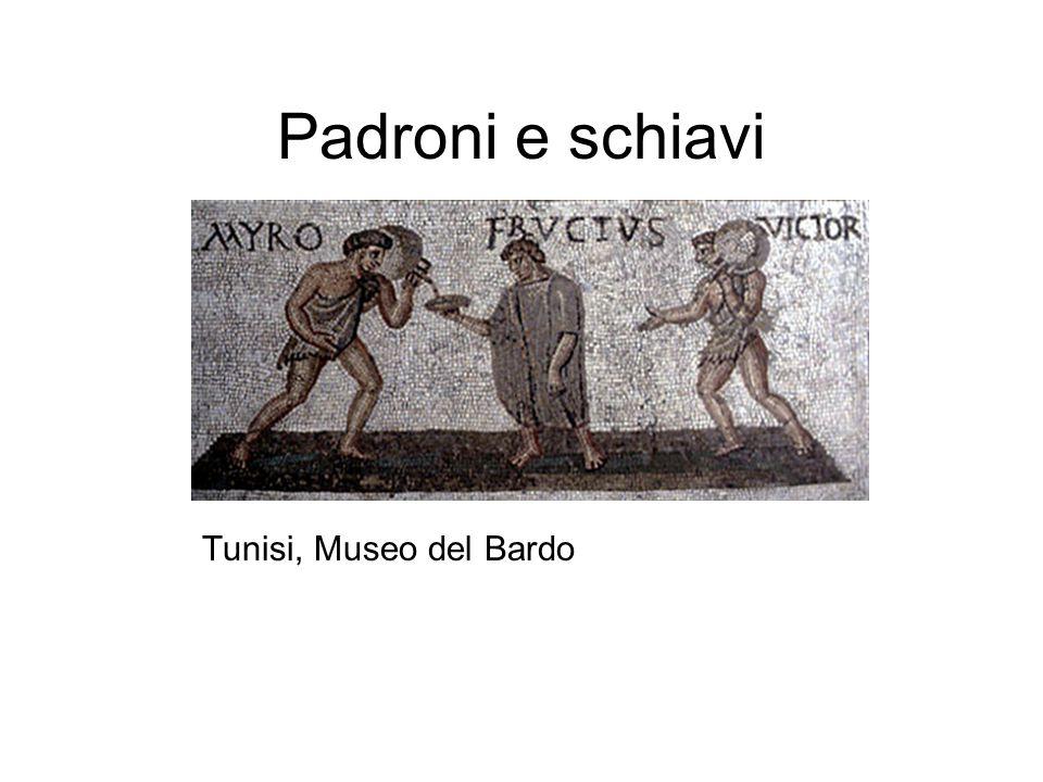Padroni e schiavi Tunisi, Museo del Bardo