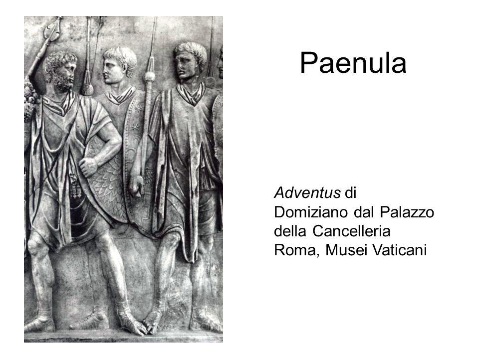 Paenula Adventus di Domiziano dal Palazzo della Cancelleria