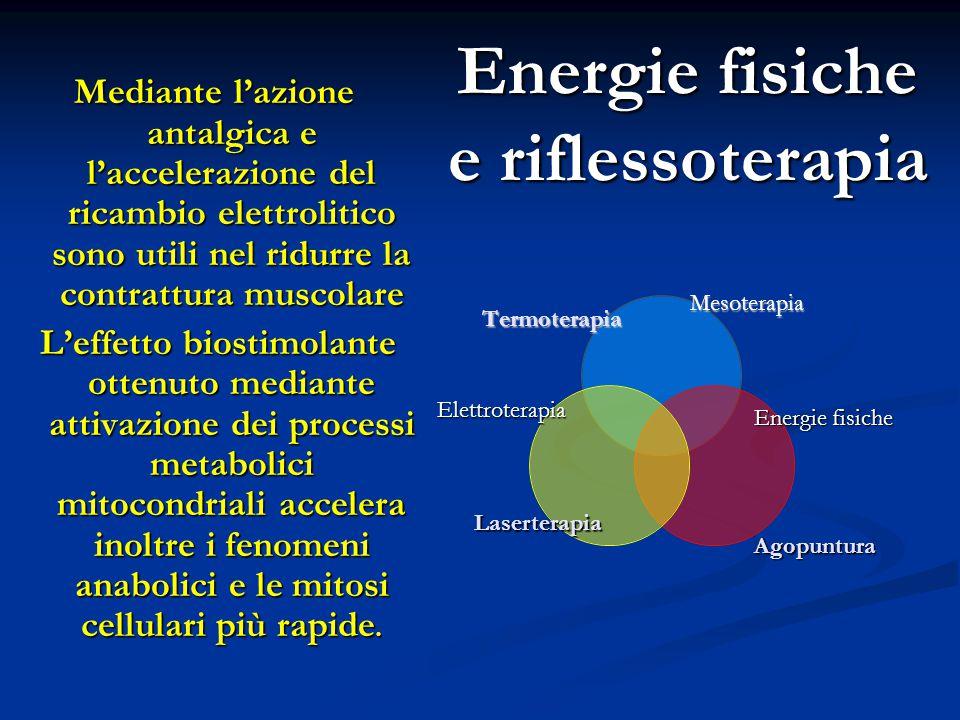 Energie fisiche e riflessoterapia