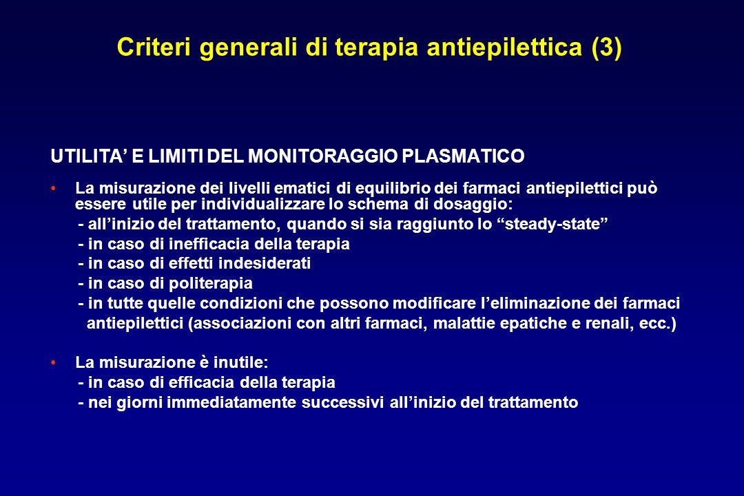 Criteri generali di terapia antiepilettica (3)