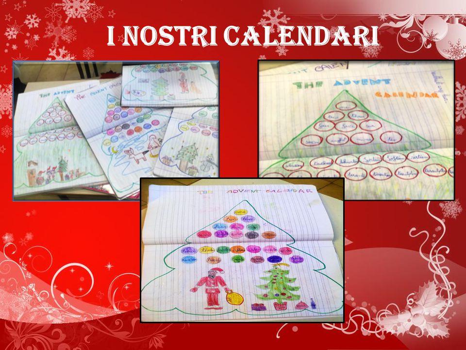 I nostri calendari