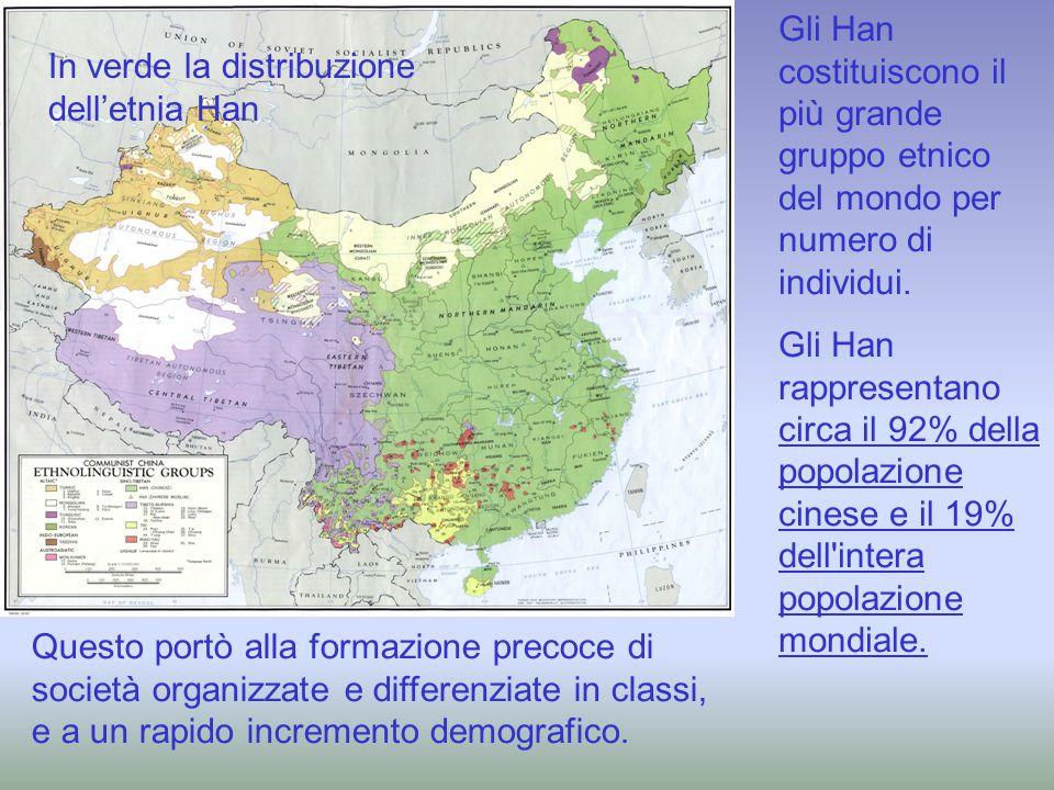 Gli Han costituiscono il più grande gruppo etnico del mondo per numero di individui.
