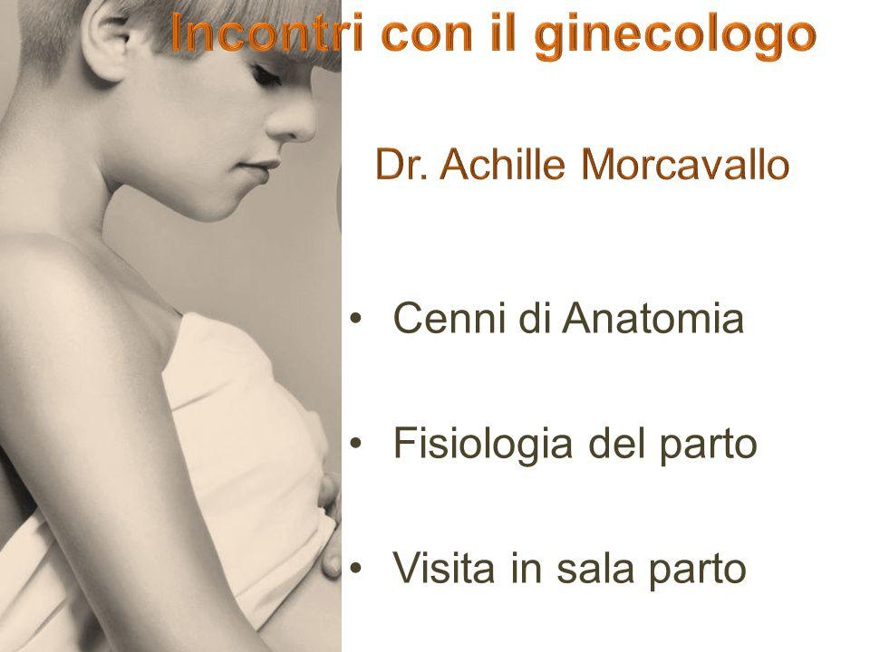 Incontri con il ginecologo Dr. Achille Morcavallo