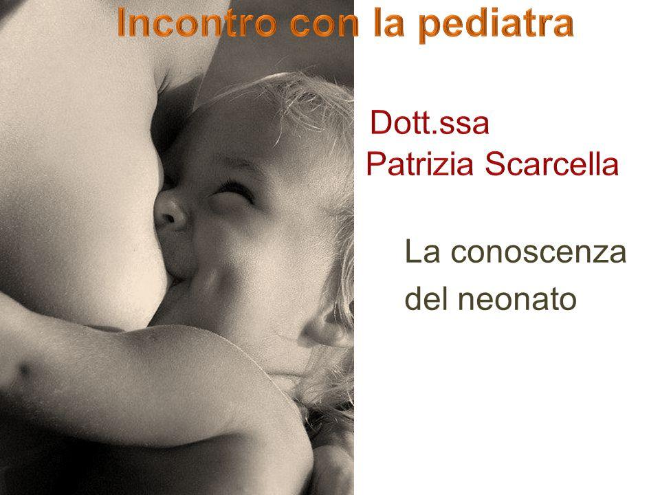 Incontro con la pediatra Dott.ssa Patrizia Scarcella