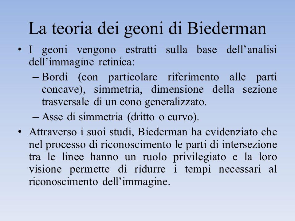 La teoria dei geoni di Biederman