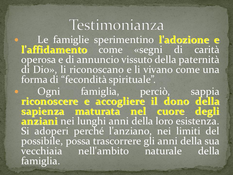 Testimonianza