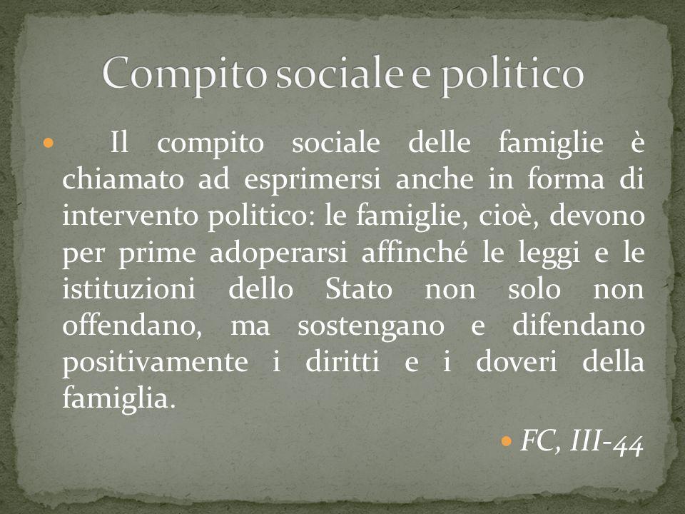 Compito sociale e politico