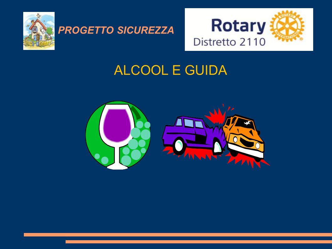 PROGETTO SICUREZZA ALCOOL E GUIDA