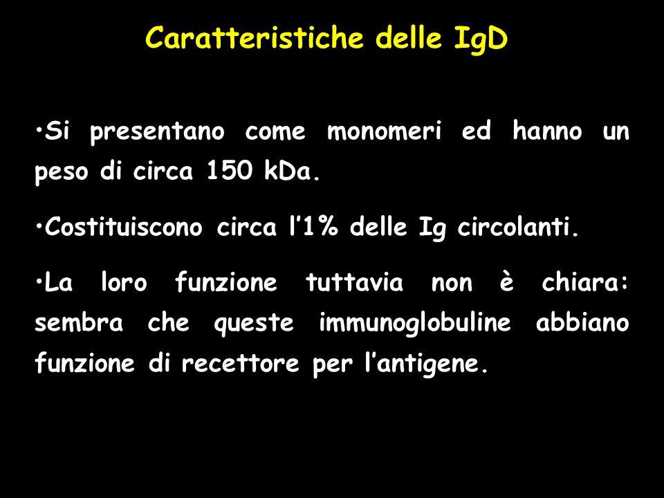 Caratteristiche delle IgD