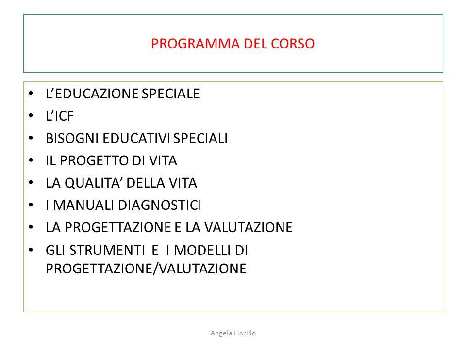 L'EDUCAZIONE SPECIALE L'ICF BISOGNI EDUCATIVI SPECIALI