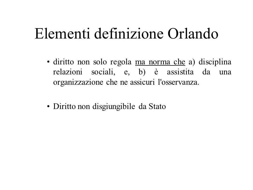 Elementi definizione Orlando