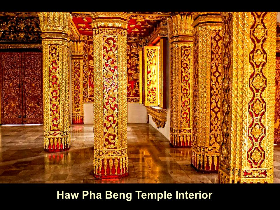 Haw Pha Beng Temple Interior