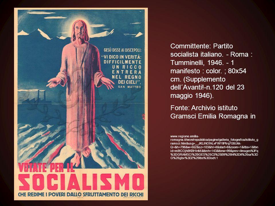 Fonte: Archivio istituto Gramsci Emilia Romagna in