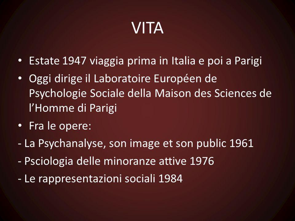 VITA Estate 1947 viaggia prima in Italia e poi a Parigi