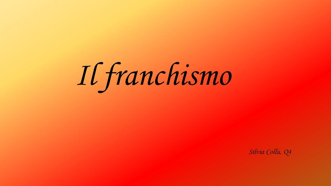 Silvia Collu, Q4 Il franchismo