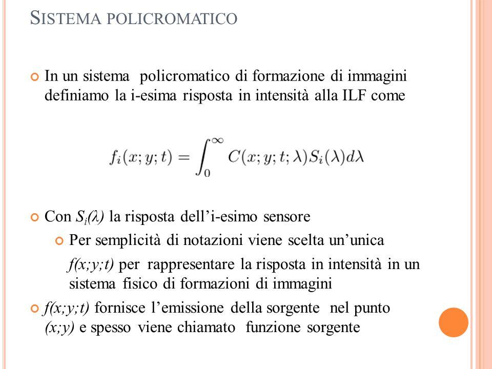 Sistema policromatico
