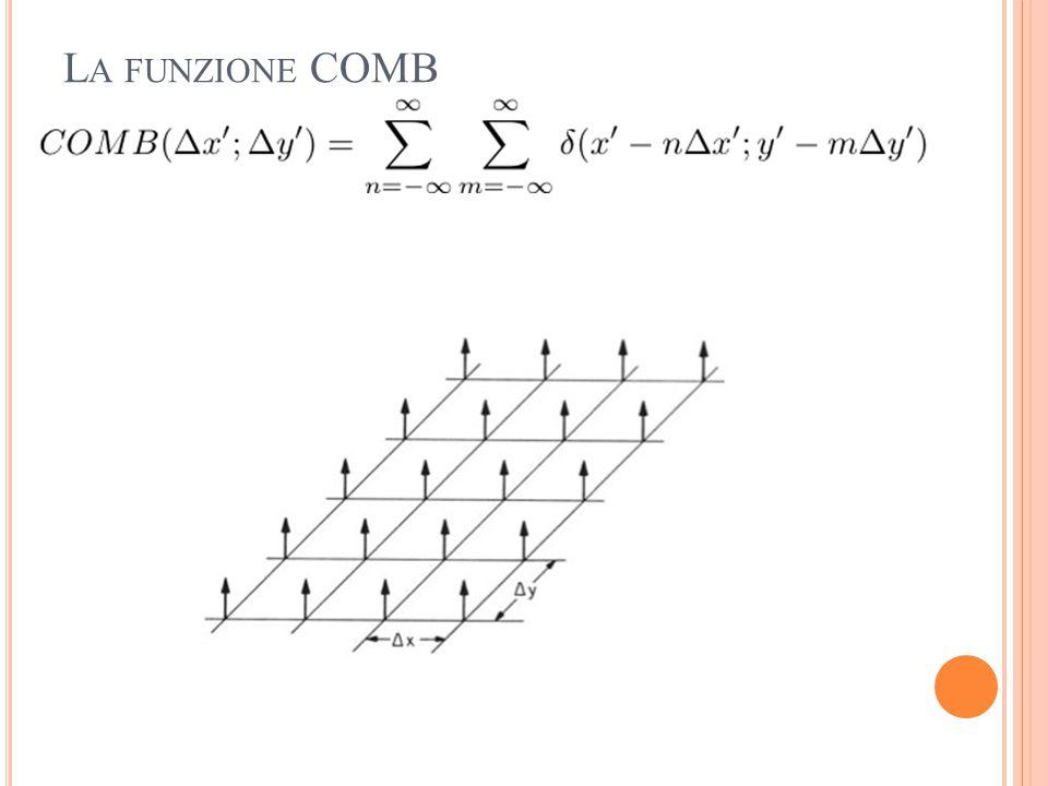 La funzione COMB