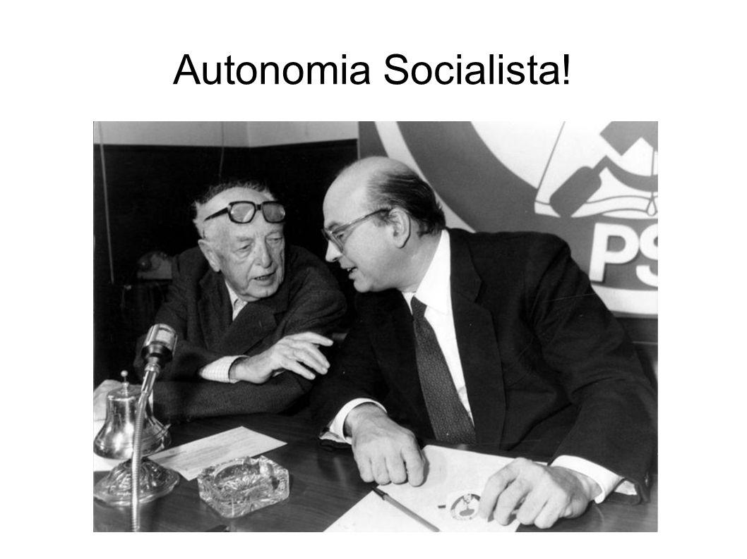 Autonomia Socialista!
