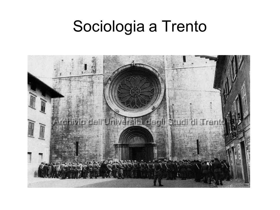 Sociologia a Trento
