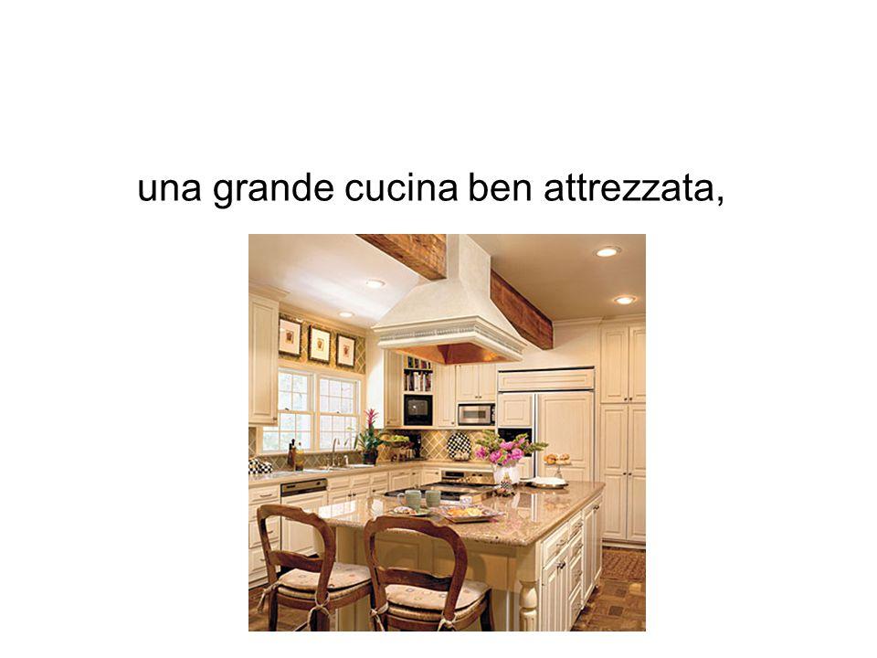 La casa dei miei sogni in montagna con la veduta di un for Una grande cucina