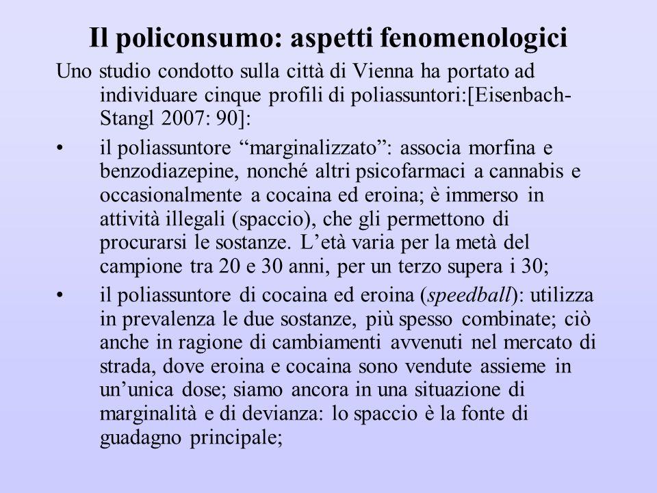Il policonsumo: aspetti fenomenologici