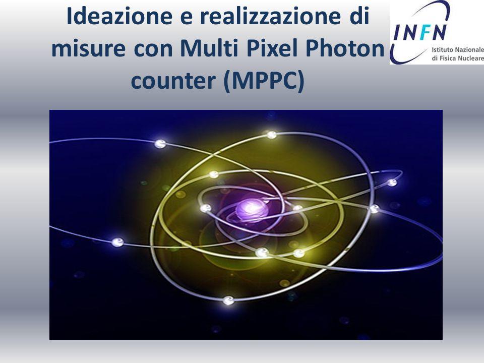 Ideazione e realizzazione di misure con Multi Pixel Photon counter (MPPC)