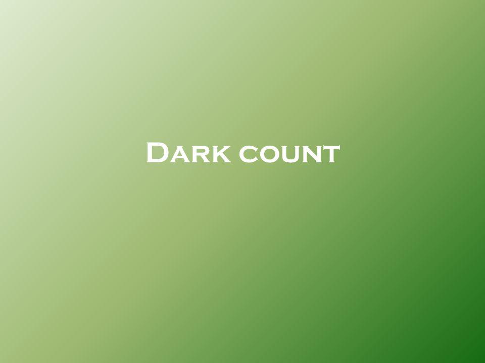 Dark count
