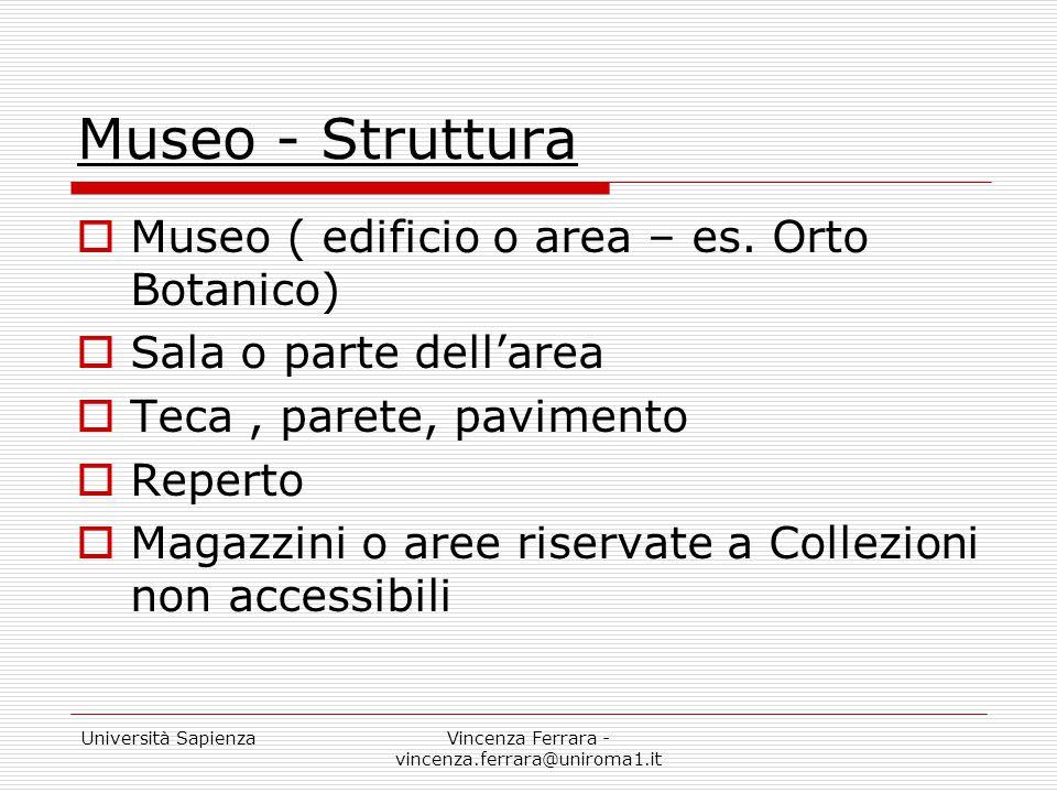 Vincenza Ferrara - vincenza.ferrara@uniroma1.it