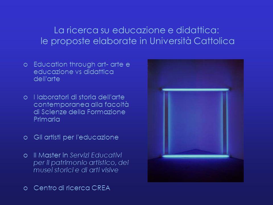 La ricerca su educazione e didattica: le proposte elaborate in Università Cattolica