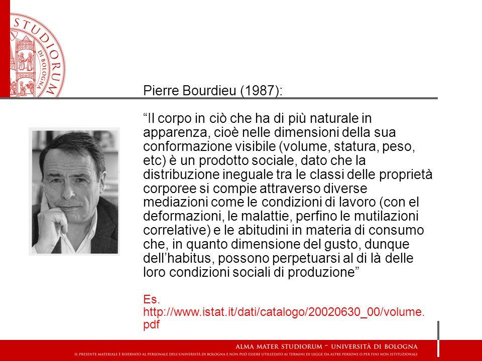 Pierre Bourdieu (1987):
