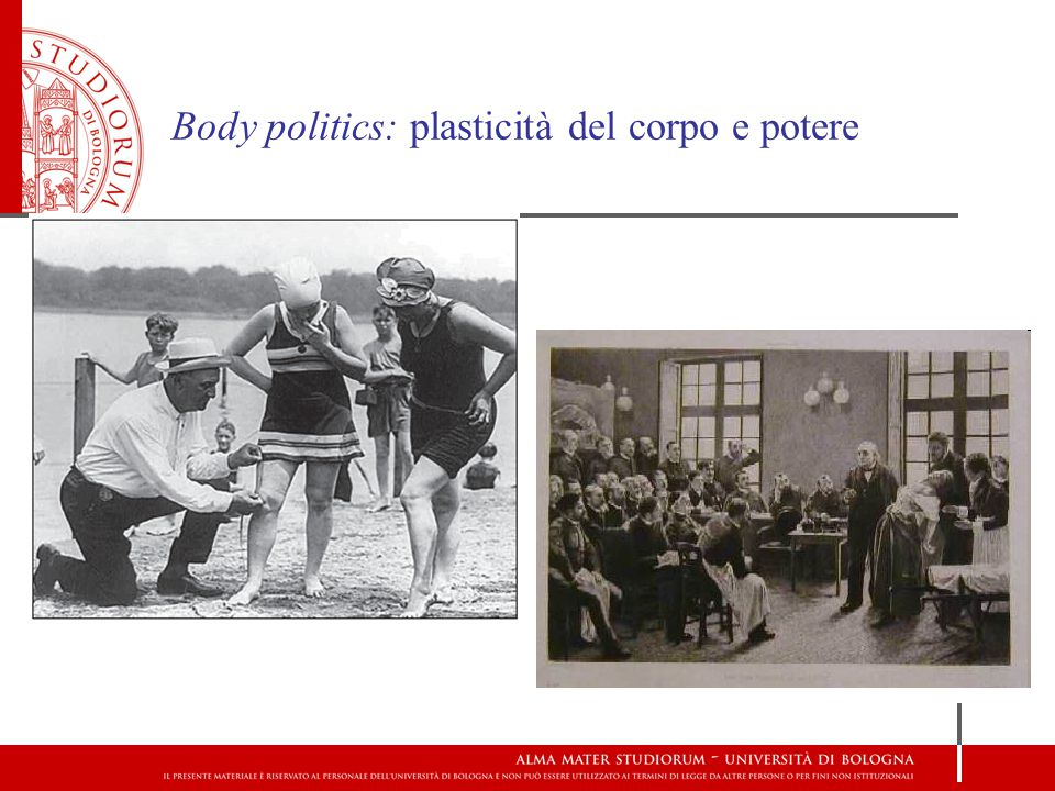 Body politics: plasticità del corpo e potere