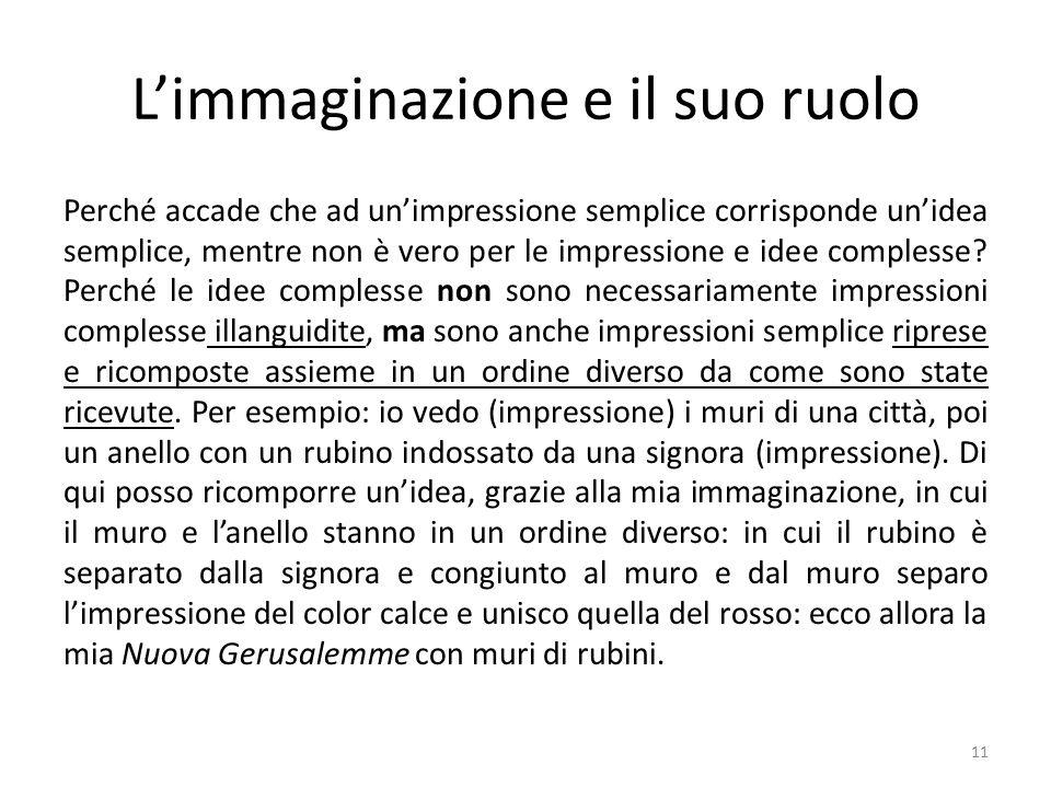 L'immaginazione e il suo ruolo