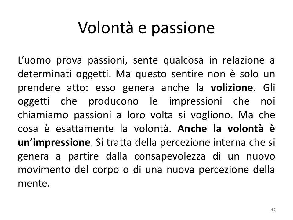 Volontà e passione