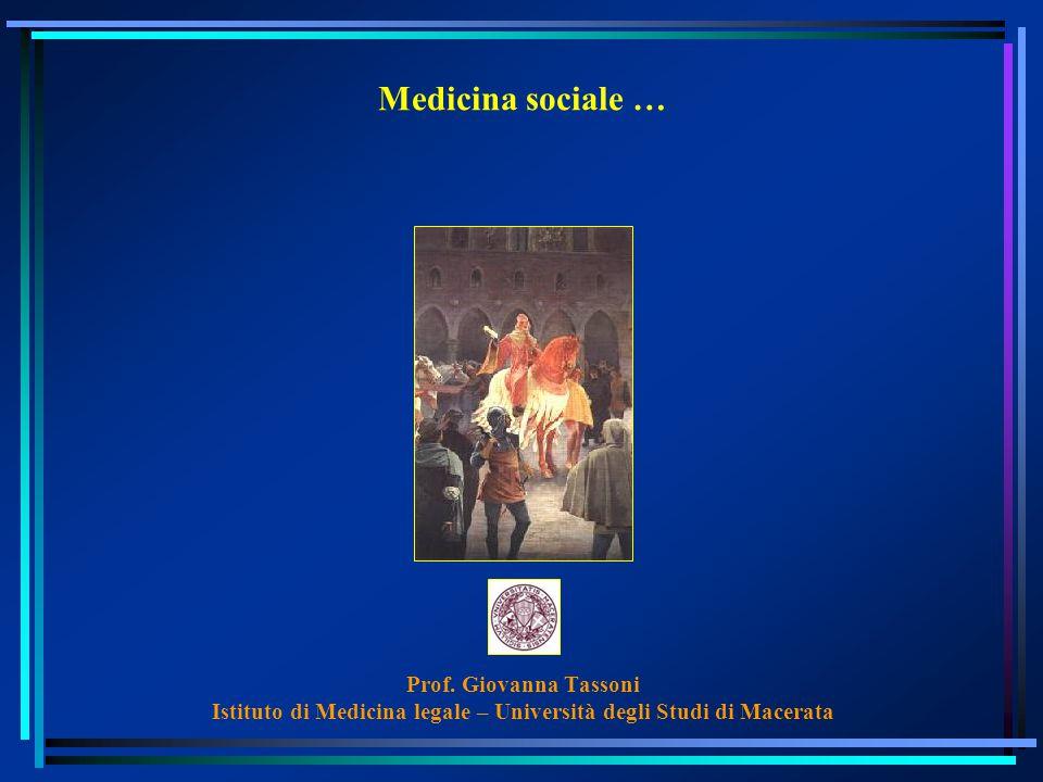 Istituto di Medicina legale – Università degli Studi di Macerata