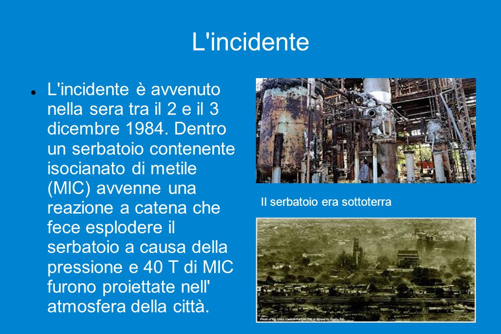 L incidente